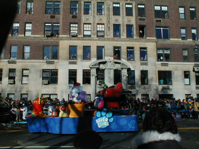 Blue's Clues Float