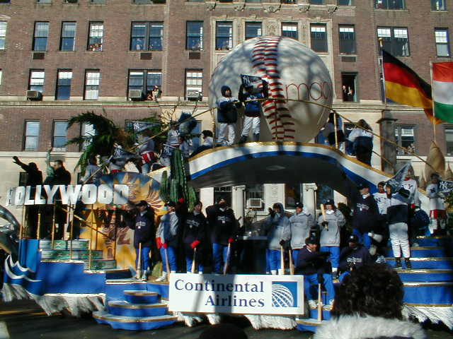 New York Yankees Float