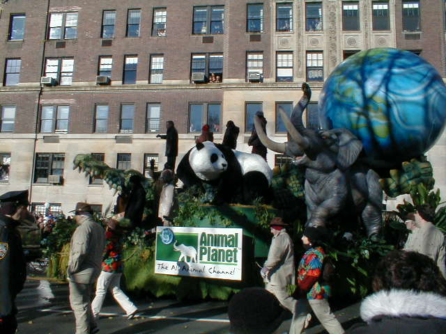Animal Planet Float