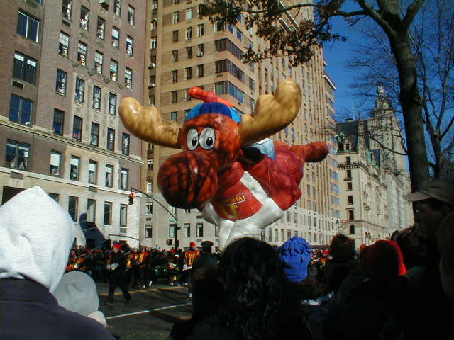 Bullwinkle Moose Balloon